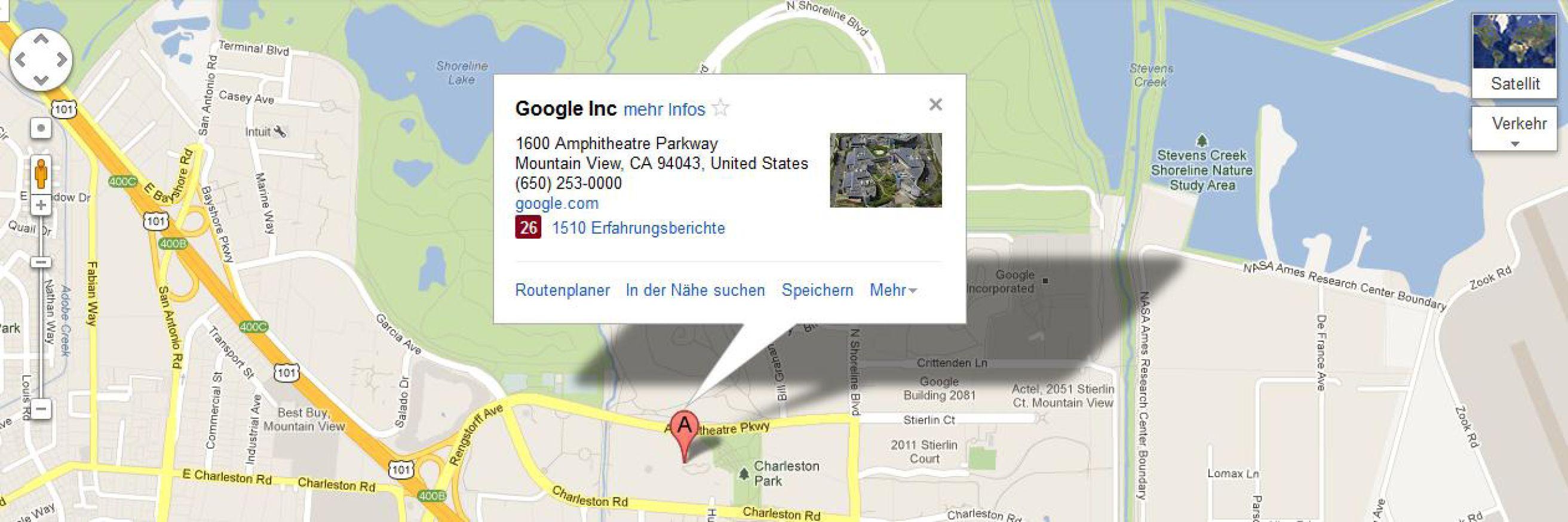 Google Maps in die eigene Webseite einbinden (mit Bildern