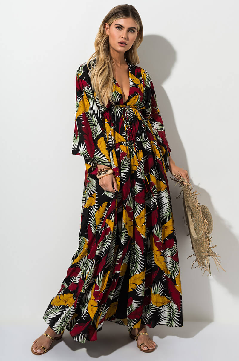 19698d63767 FALL IN LOVE FLORAL MAXI DRESS in 2019