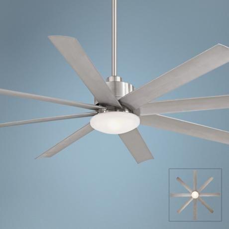65 Minka Aire Slipstream Brushed Nickel Outdoor Ceiling Fan 3c144 Lamps Plus Ceiling Fan Modern Ceiling Fan Ceiling Fan With Light Brushed nickel outdoor ceiling fan