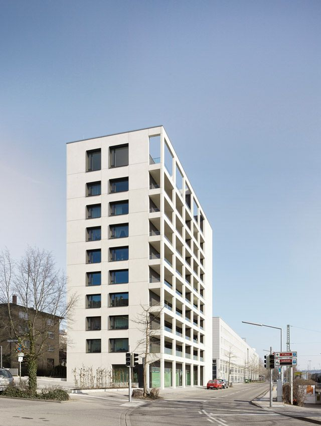 Refurbishment High-rise Residential Building Gueterstrasse 30   Transsolar   KlimaEngineering