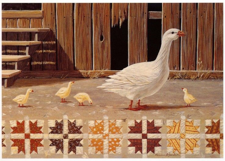 Hole In The Barn Door Quiltscape By Rebecca Barker Quilting