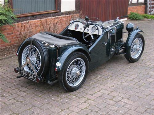 1933 MG J-Type Midget (J3XXX) : Registry : The AutoShrine Network