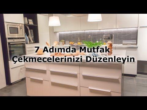 7 Adımda Mutfak Çekmecelerinizi Düzenleyin - YouTube Küche Pinterest - Led Einbauleuchten Küche