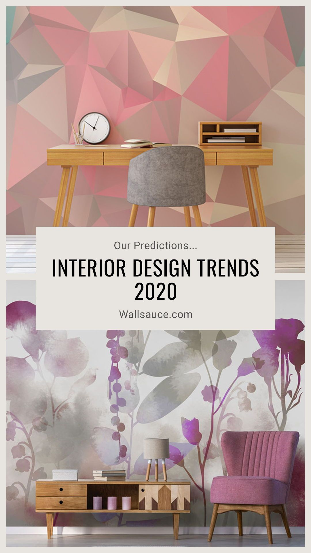Interior Design Trends 2020 Our Predictions Wallpaper Trends Design Trends Interior Wallpaper