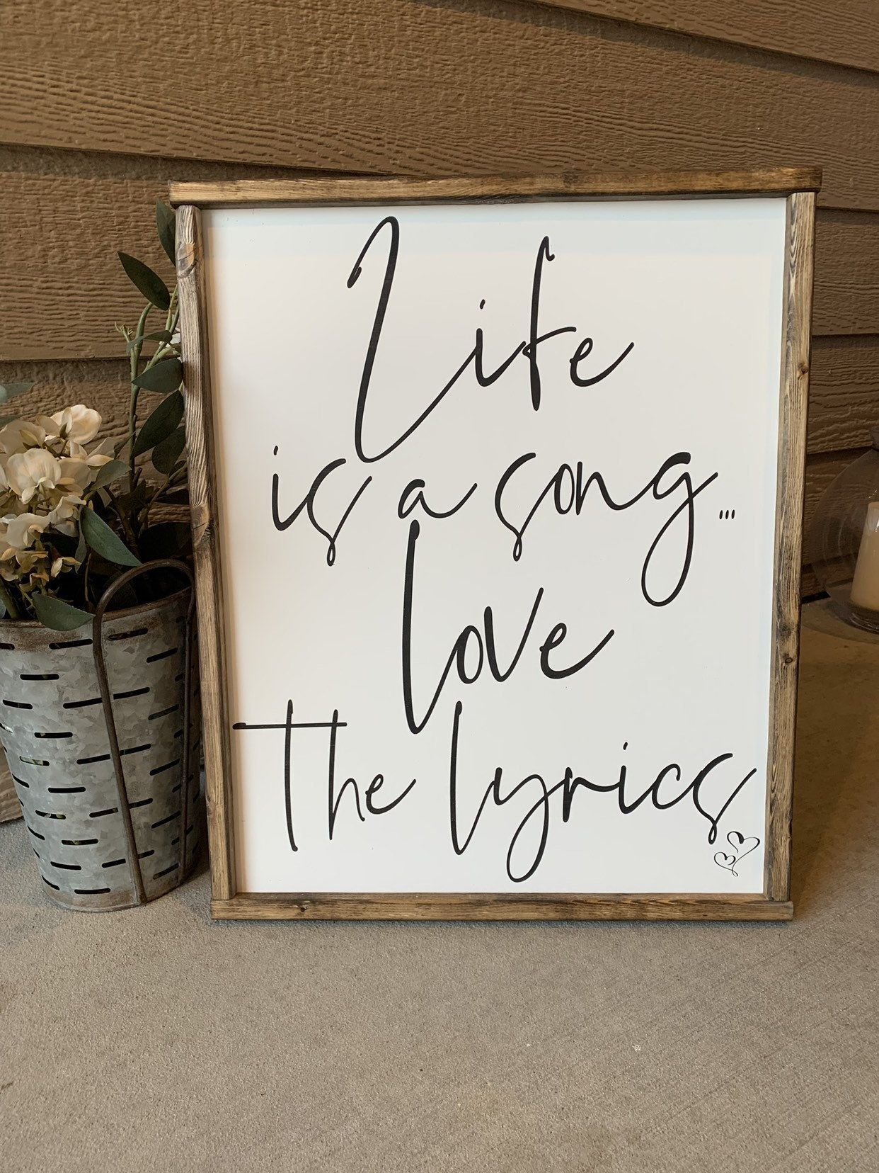 Farmhouse Decor  signs with quotes  signs  wood signs