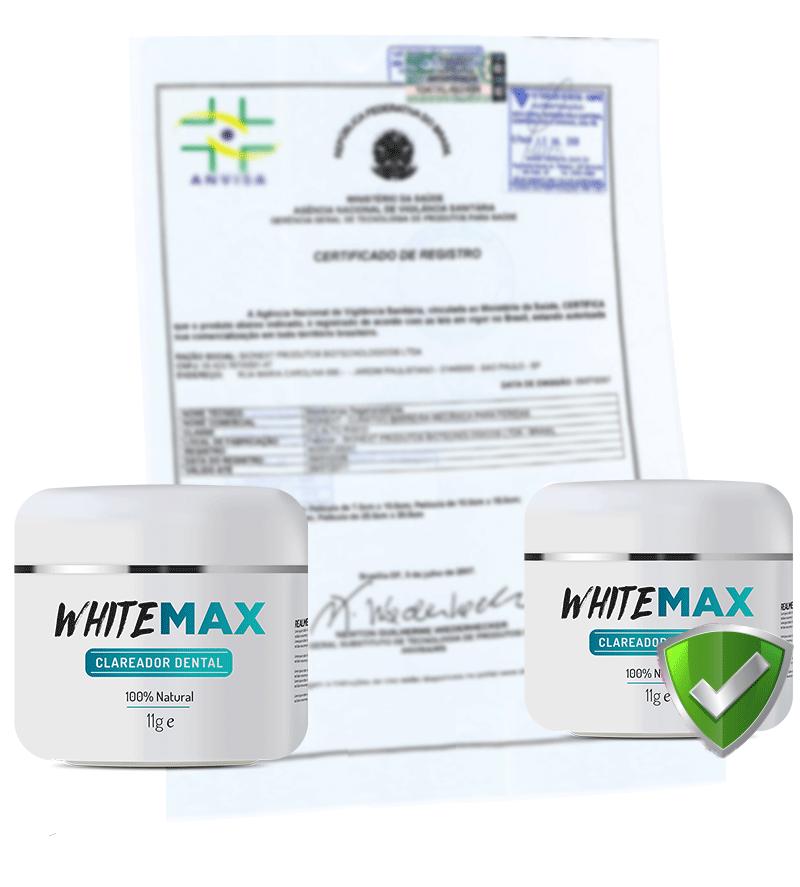 Whitemax Clareador Dental 100 Natural White Max Dentes