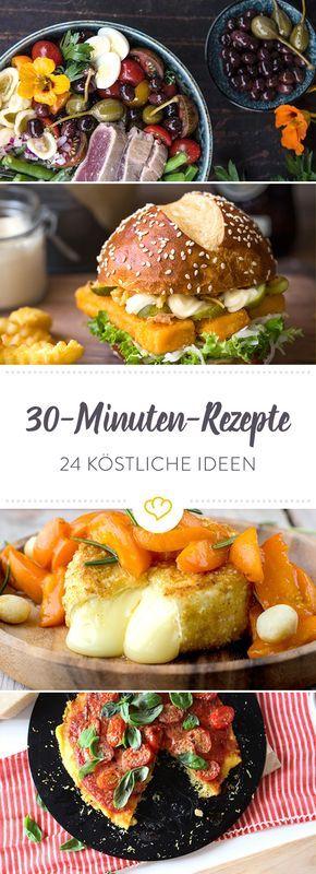 Hallo Feierabend! 24 schnelle 30-Minuten-Rezepte | Gut Essen und ...
