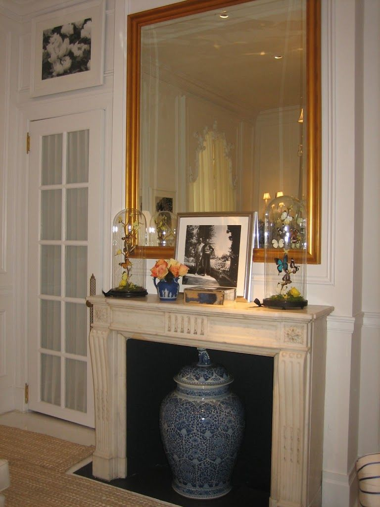 Habitually Chic Pretty Porcelain FIREPLACE Pinterest Porcelain