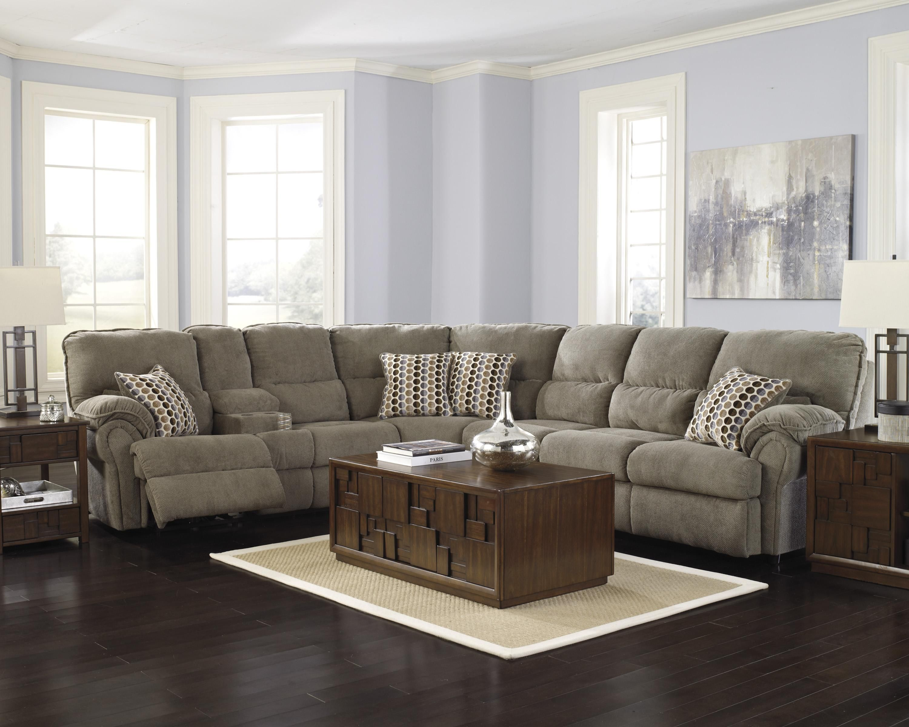 My Style Traditional Sectional Sofa by Rowe