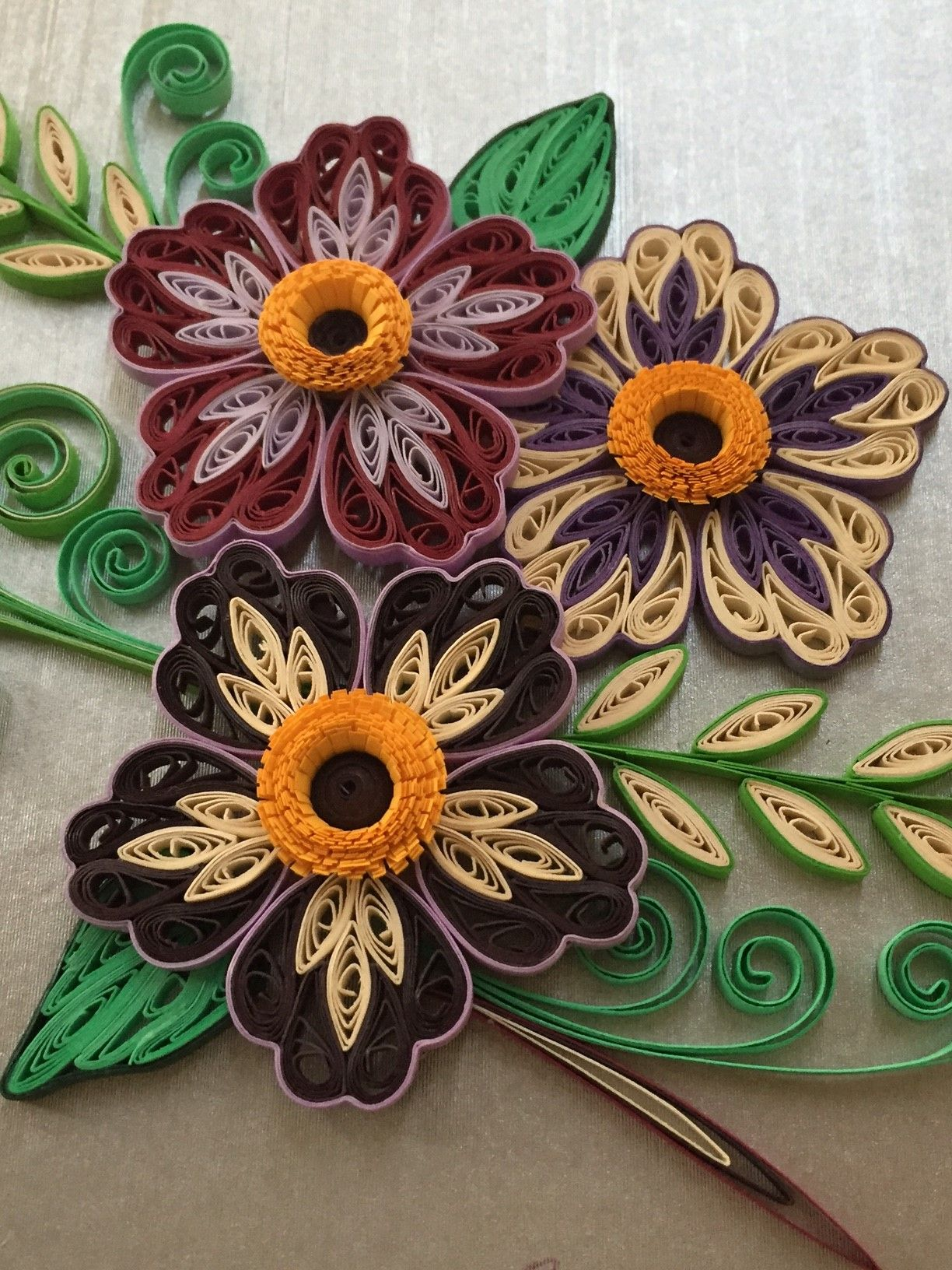 Quilling Flowers By Canan Ersoz Paper Quilling Flowers Quilling Flowers Paper Quilling Jewelry