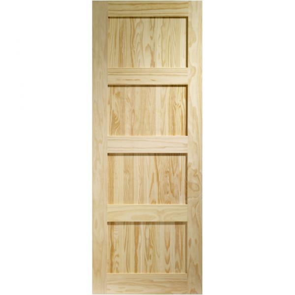 Wooddoor Internal Clear Pine Unfinished Shaker Door Wdps