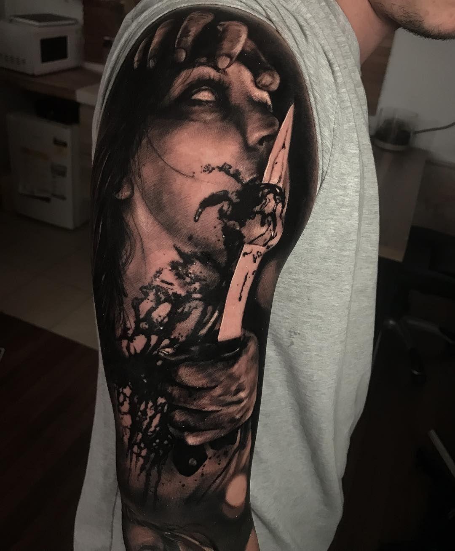 How To Choose A Tattoo Artist Scary Tattoos Dark Tattoos For Men Tattoo Artists