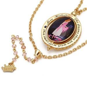 Cinderella scene necklace