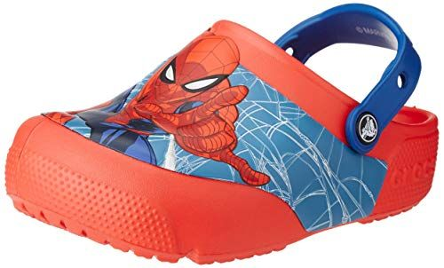 dfc7830850496 Crocs Kids' Boys and Girls Spiderman Light Up Clog #Mules & Clogs ...