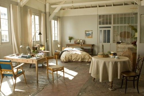 Emma Anne Hathaway S Paris Studio Apartment In The Movie One Day