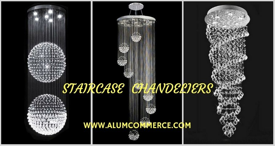 Staircase Chandeliers Contemporary Lighting