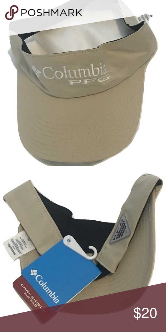 aa1f44dfc6465 Columbia Sportswear PFG Omni-Shield Visor Hat Columbia Sportswear PFG Omni- Shield Blood  N Guts Visor. Save money by bundling with other items in my  store.
