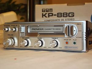 Pioneer Kp 88g Car Stereo Cassette Player Vintage Made In Japan Xrare In 2020 Car Stereo Stereo Cassette Player