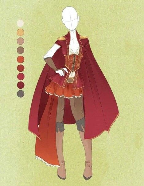 Pin By Abi B On Little Imagination Anime Outfits Costume Design Warrior Outfit
