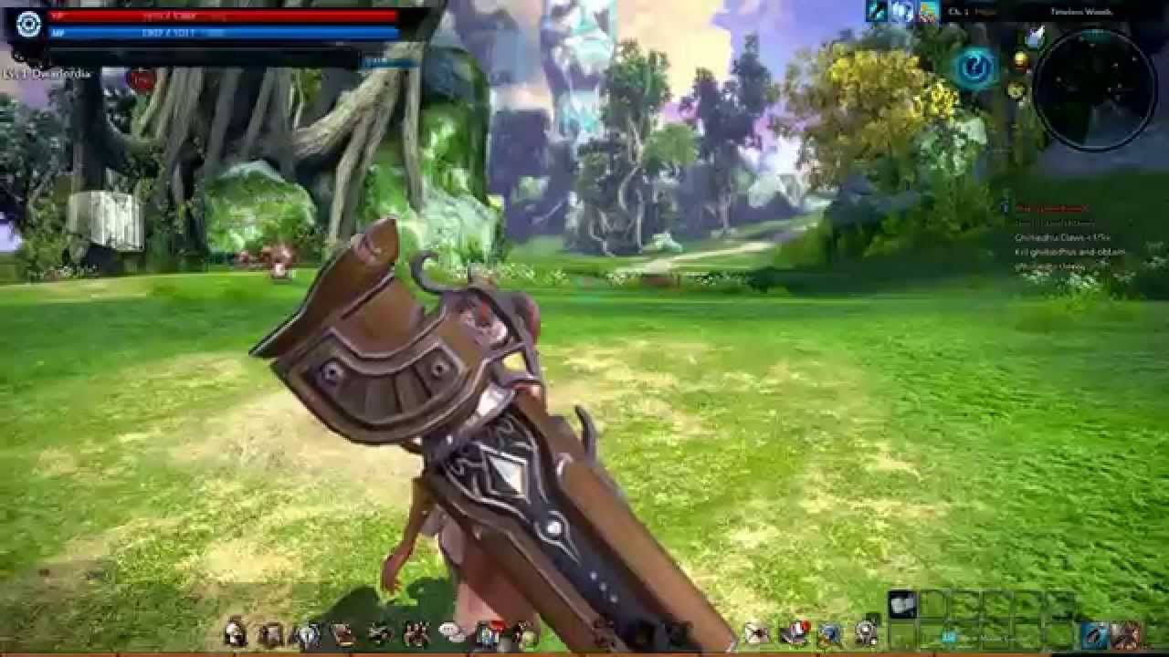 TERA Fate of Arun High Elf Gunner class 1 - TERA Fate of Arun is a Role Playing MMO Game [MMORPG] featuring Action-focused combat