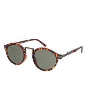 ASOS Vintage Round Lens Sunglasses at asos.com