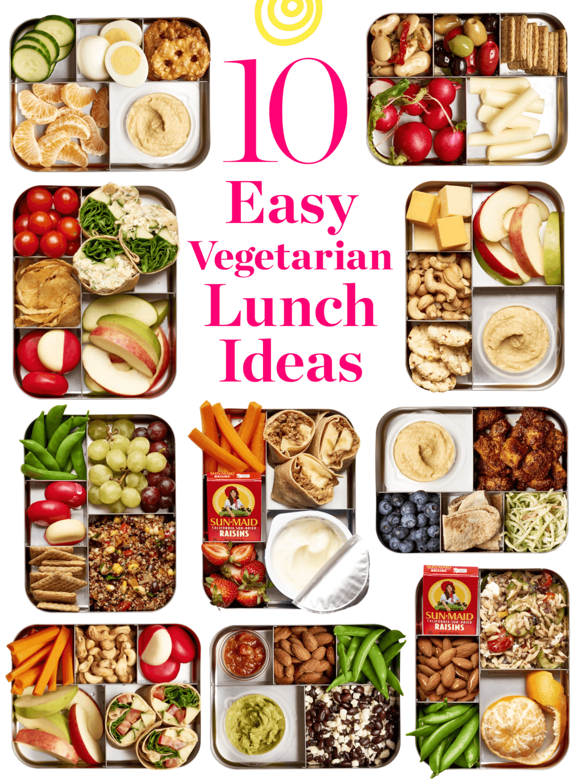 10 Easy Lunch Box Ideas For Vegetarians Take Your Lunch To