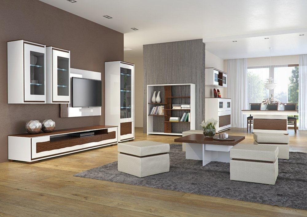 Flanso 1 Modern wall units, Living room wall units and Modern wall