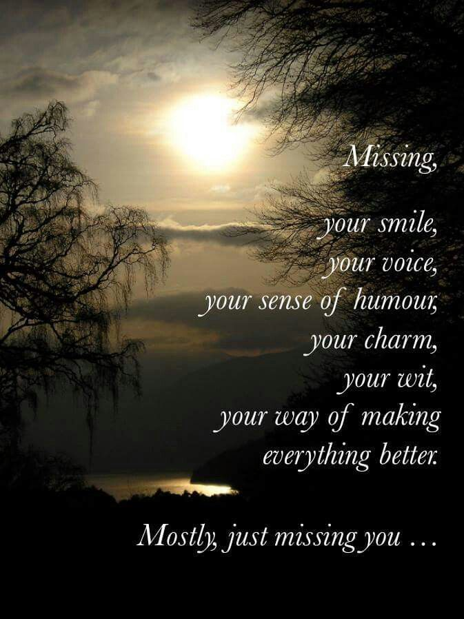 Missing you | Love Quotes and thoughts about my soulmate