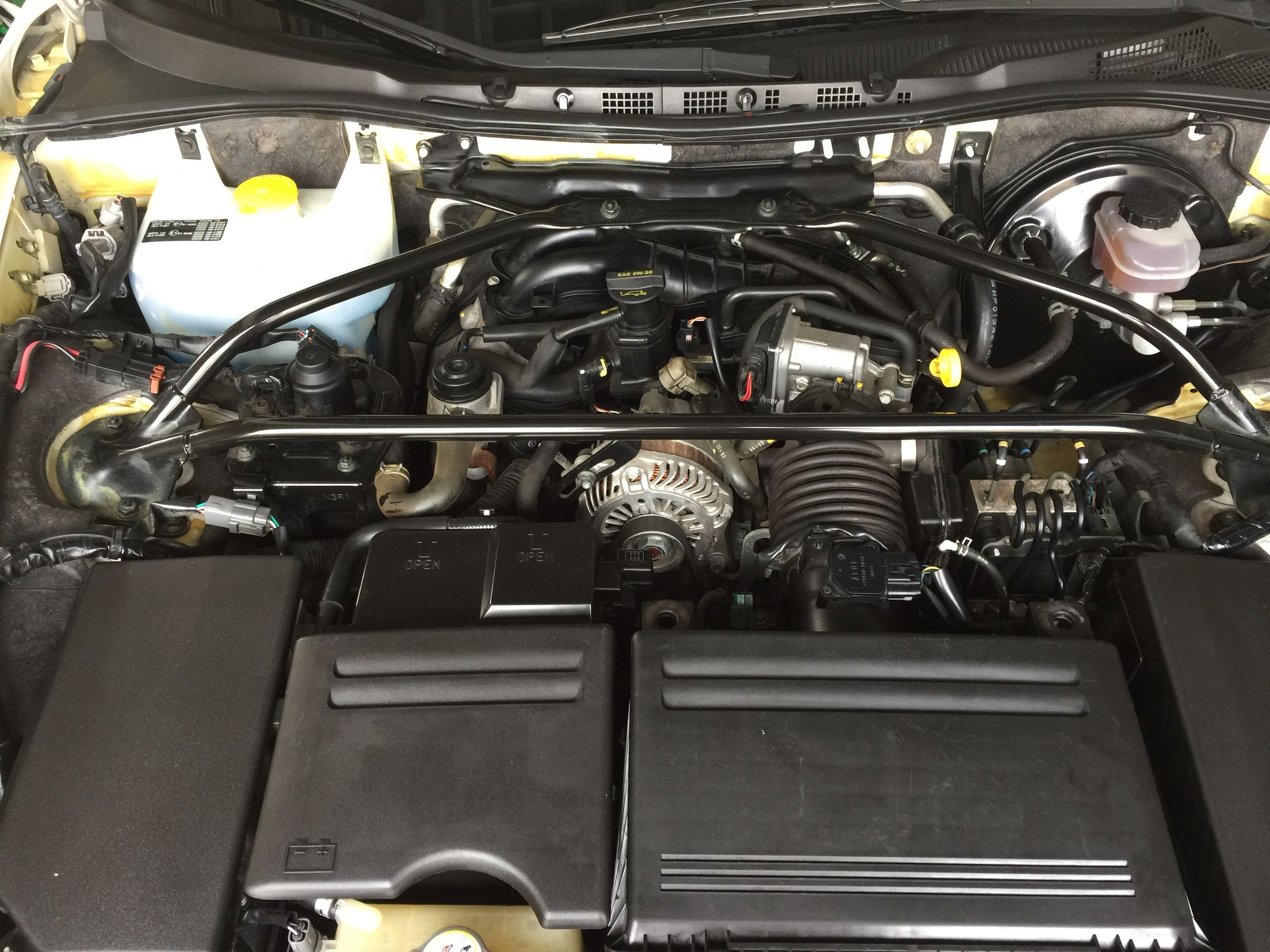 series 2 rx-8 engine bay | wankel rotary engines | pinterest