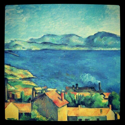 The Bay of Marseilles - Paul Cézanne