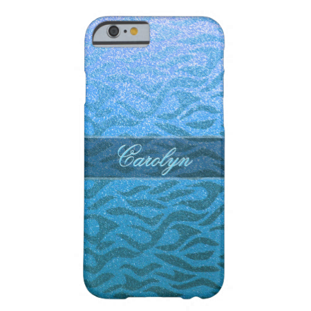 Subtle Aqua Blue iPhone 6 Case. Buy this iphone 6 case and add some sparkle to your life with this beautiful glitter look artwork. Modern elegance and classy sophistication.