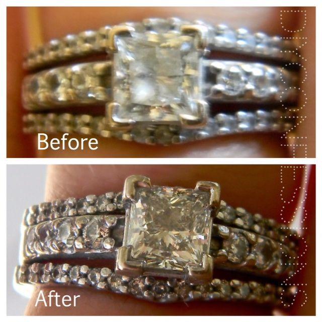 Cleaning Rings: DIY Ring Cleaner. Uses Household Ingredients! Works Great