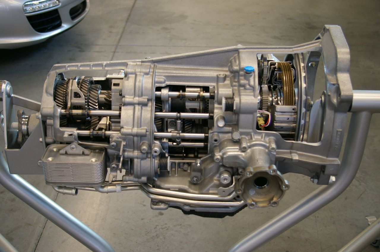 A Look Inside Porsche S New Twin Clutch Quot Pdk Quot Transmission
