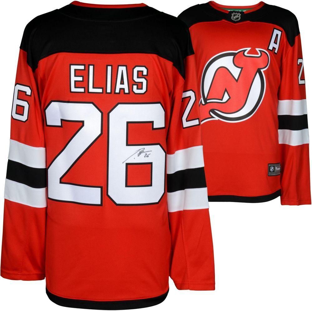 the best attitude 68cf1 53ba3 Patrik Elias New Jersey Devils Autographed Fanatics ...