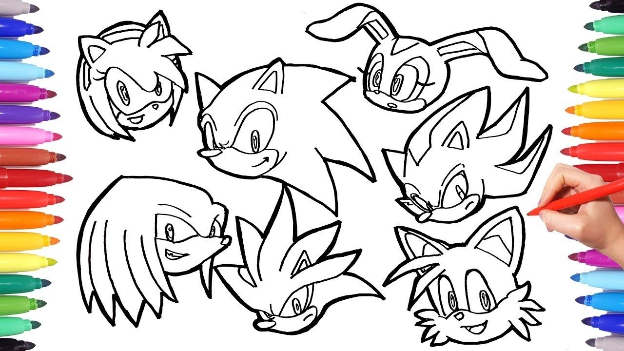 Sonic Characters Coloring All Sonic Characters Coloring Pages Classic Sonic Characters Colori Coloring Pages Coloring Pages To Print Printable Coloring Pages