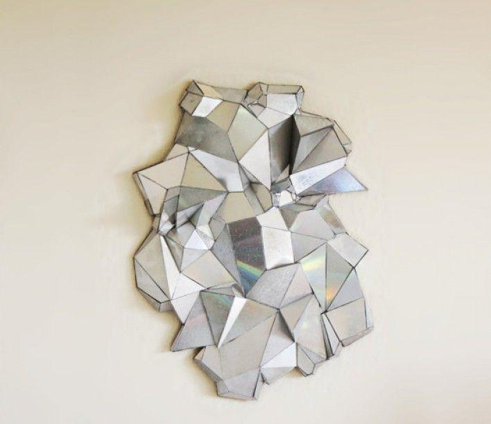 Broken CD Mirror by Pop Renaissance.