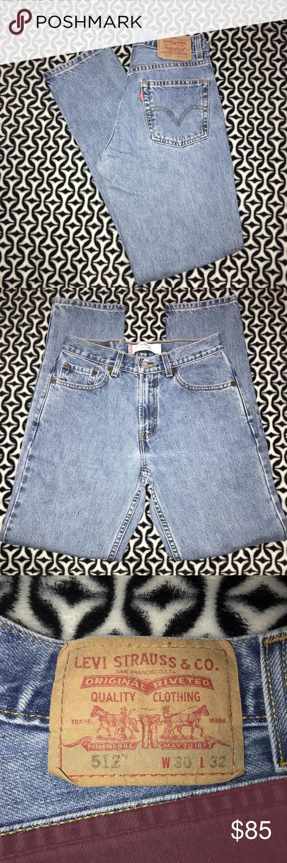 03c4a17264 Vintage Levi's 512 Vintage Levi's 512 slim fit high waisted mom jeans.  Stone wash.