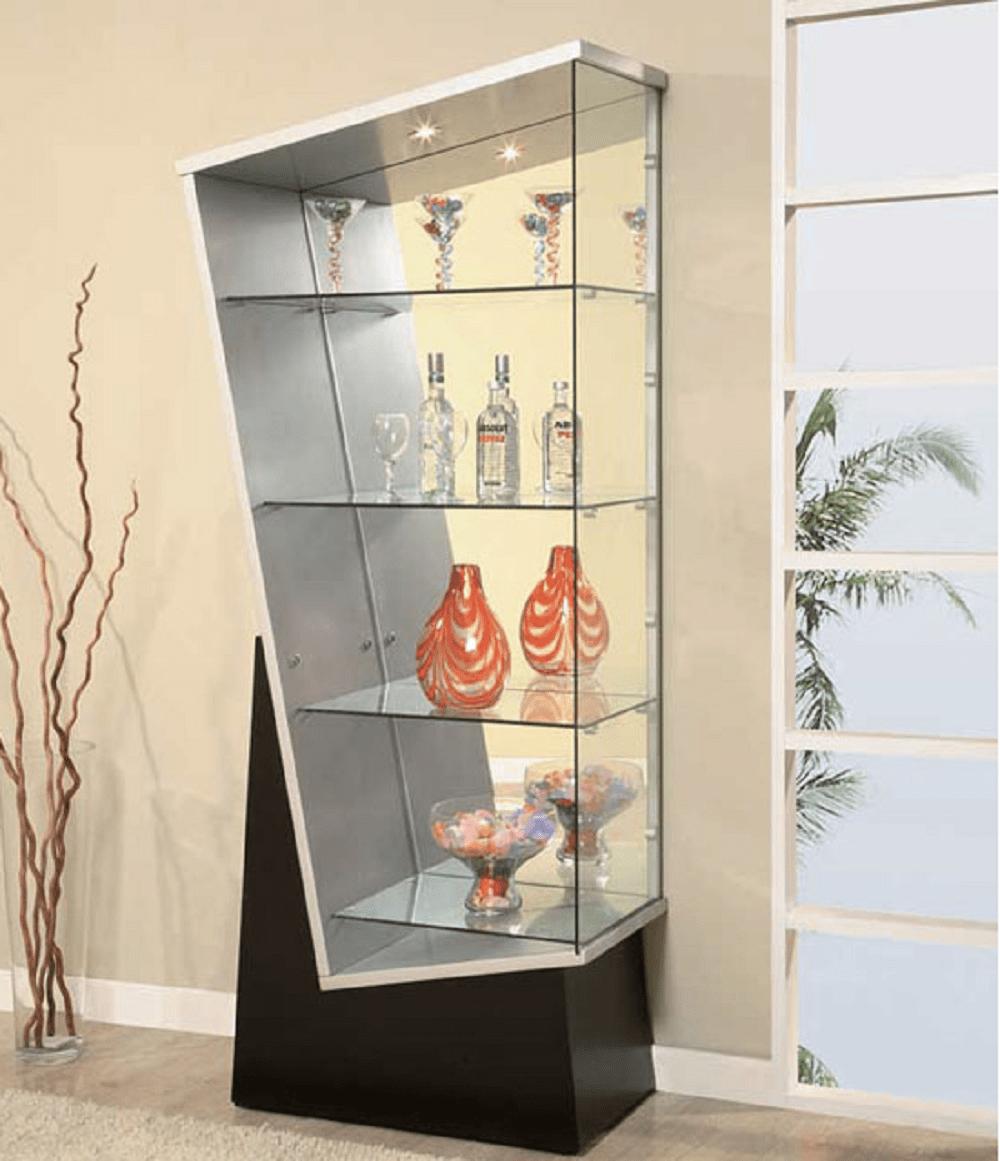 نيش مودرن إيطالي و مجموعه استايلات غرف سفرة مميزة مجلة منزلي Global Furniture Glass Cabinets Display Crockery Unit Design
