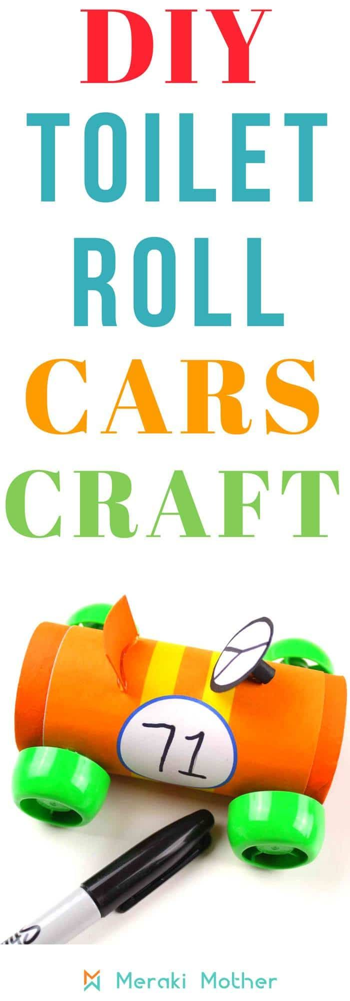 Racing Car Craft For Kids Crafts For Kids Pinterest Crafts For