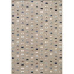 Photo of benuta Naturals Kurzflor Teppich North Multicolor/Beige 120×170 cm – Moderner Bunter Teppich für Woh