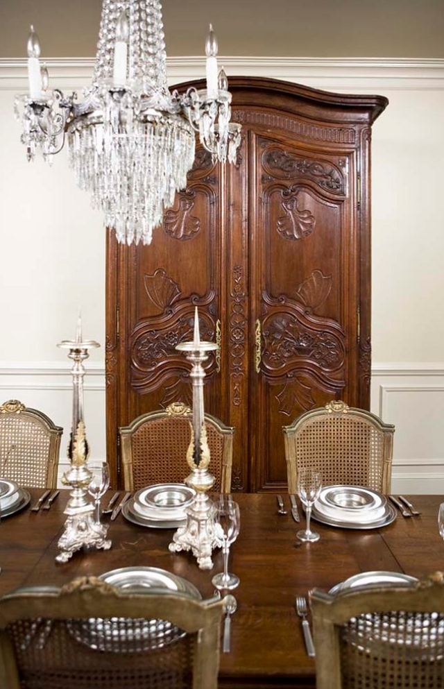 French Armoire Dining RoomsCountry