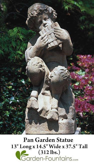 Pan Garden Statue
