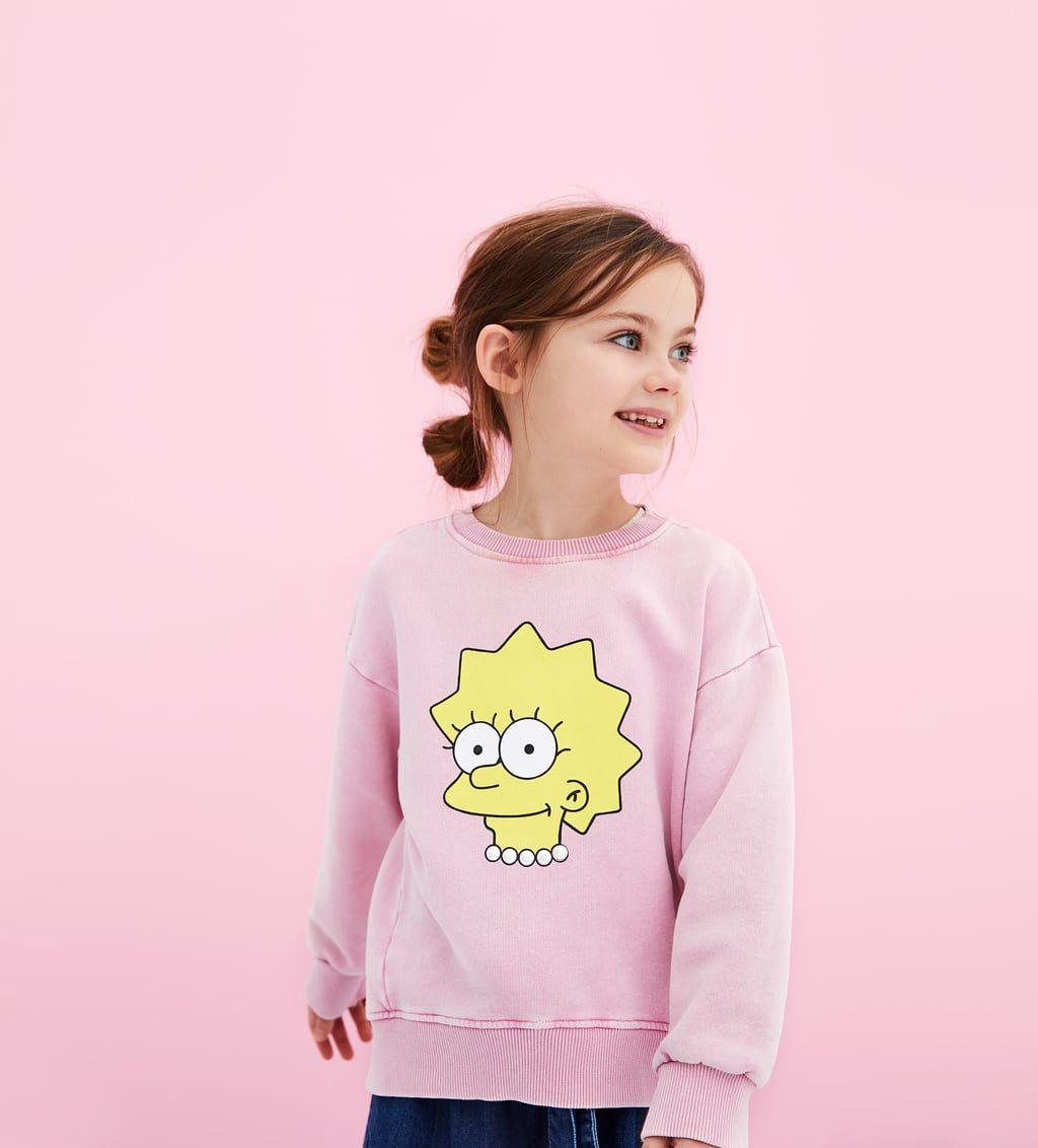 Zara Kids The Simpsons Sweatshirt Ropa Tumblr Ropa Ropa Juvenil De Moda