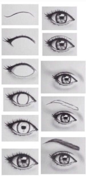 Drawing Eyes I Wish I Could Draw Like This Eyelashes And