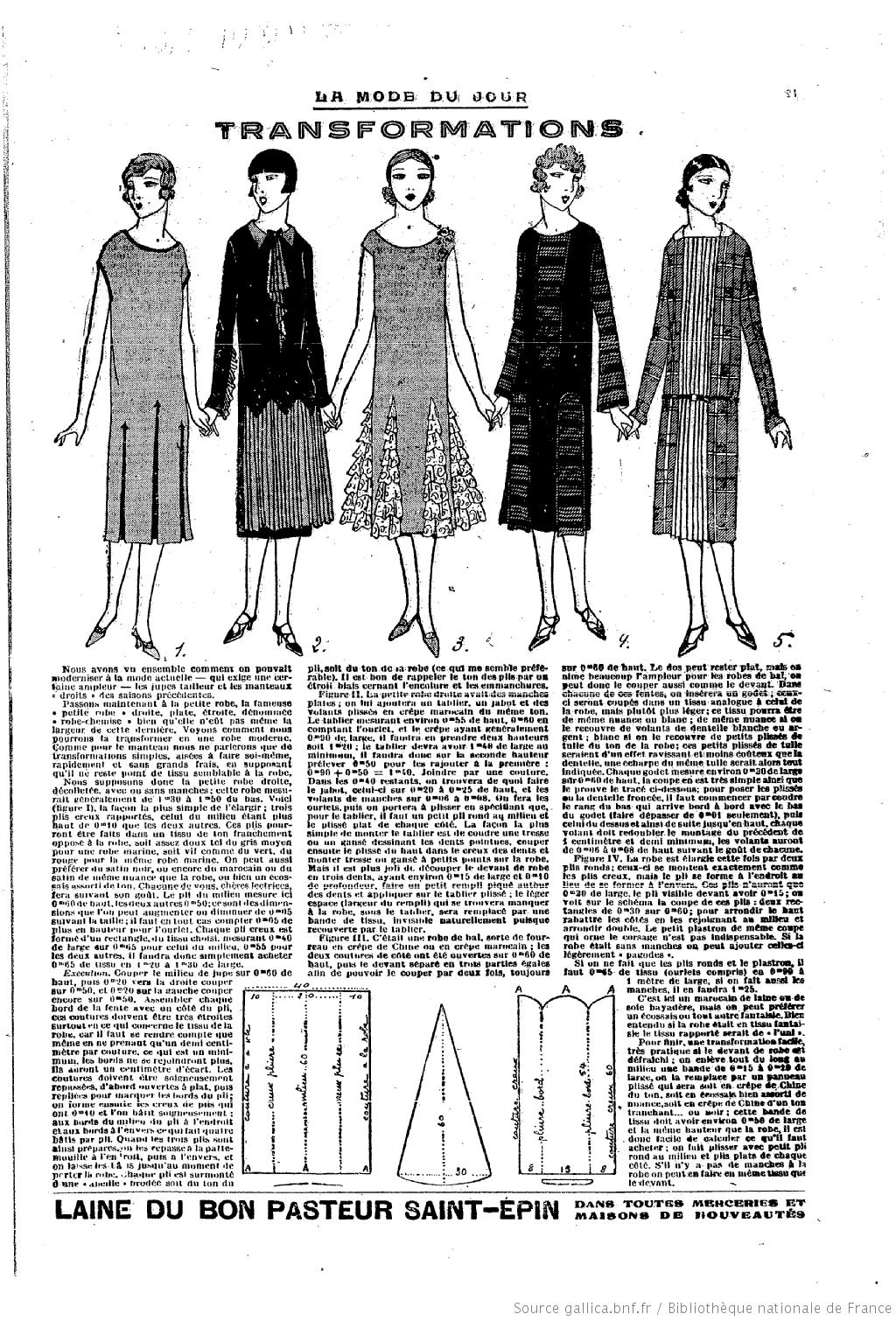 vintage 1920s dress pattern free vintage clothing. Black Bedroom Furniture Sets. Home Design Ideas