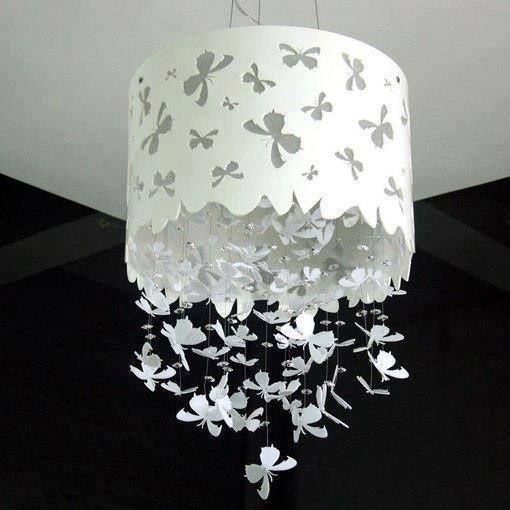 Homemade Lamp Shade.... Wow!