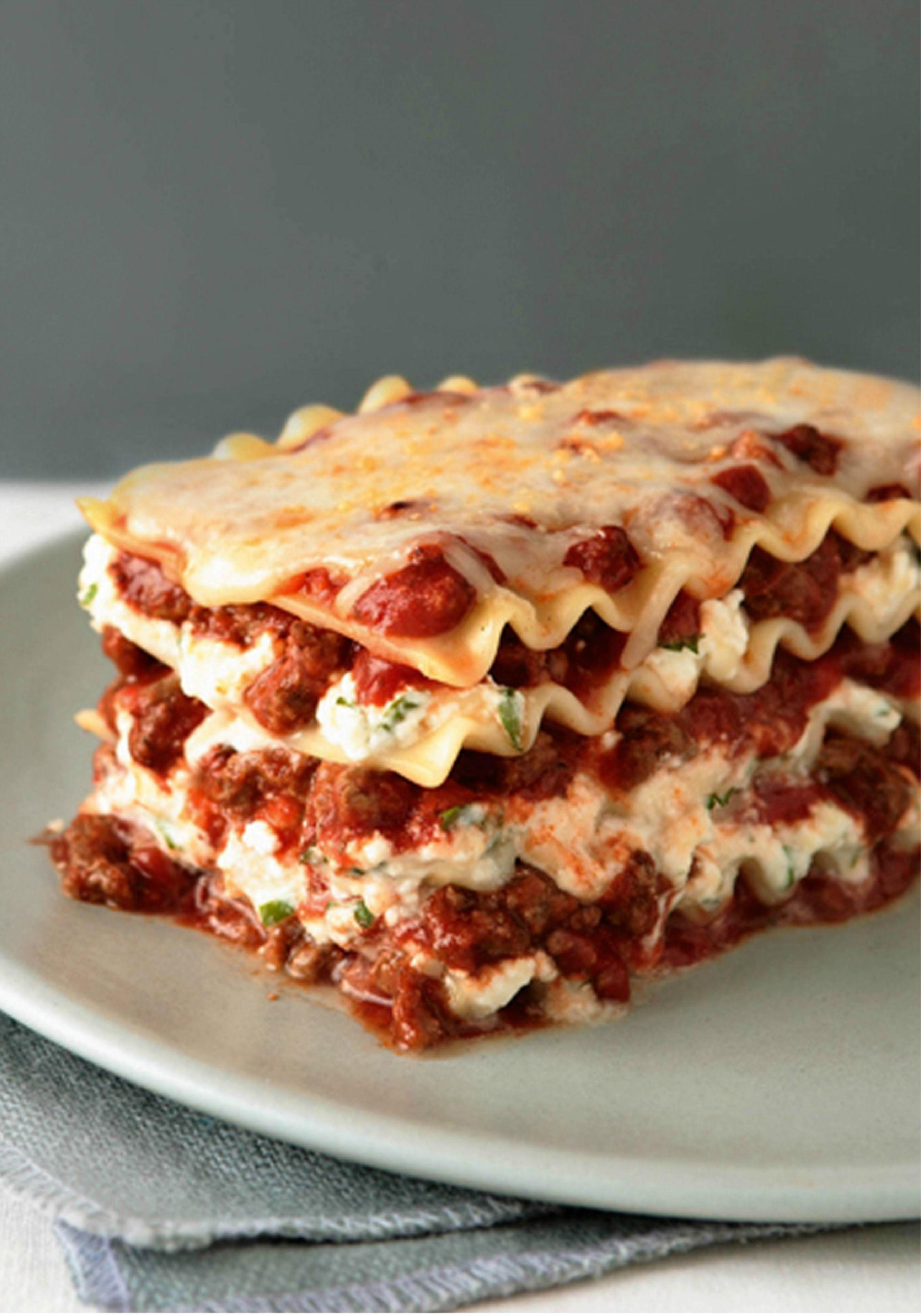 Simply Lasagna Recipe Recipe Simply Lasagna Recipes Lasagna Recipe