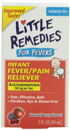 Little Remedies Fever Pain Reliever, Natural Mixed Berry Infants, 2 Fluid Ounce: Health & Personal Care