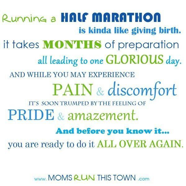 Half Marathon Running Quotes  Half Marathons  Running