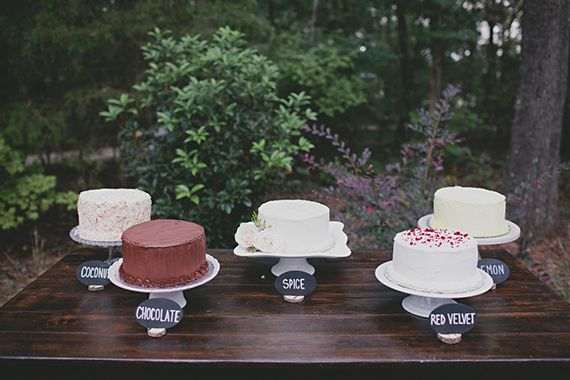 barn wedding cake table rustic cake table different flavors of cake instead of 11082